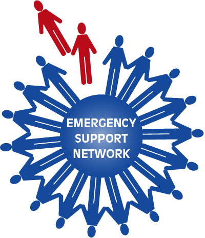 Emergency Support Network Retina Logo