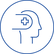 Icon Managing Psychosocial Hazards Blue