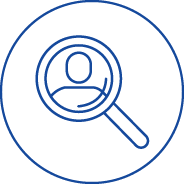 Icon Workplace Investigation Services Blue